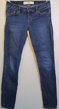 Abercrombie & Fitch Denim Jeans Women's Size 00 Short W24 L29
