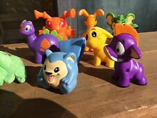 Neopets New pet animals Lot of 9 Chomby Grundo Poogle Kougra Moehog Blumaroo