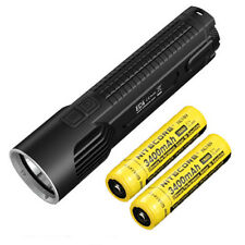 Nitecore EC4 1000 Lumen XM-L2 U2 LED Flashlight  w/2x Nitecore NL189 Batteries