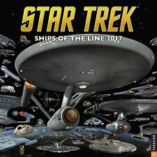 Star Trek 2017 Wall Calendar: Ships of the Line Calendar by CBS (Calendar) C17