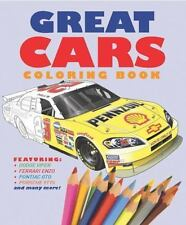 Chartwell Coloring Bks.: Great Cars Coloring Book (2014, Paperback)