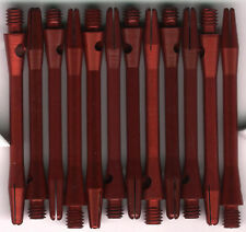 2in. 2ba Red Aluminum Dart Shafts: 3 per set