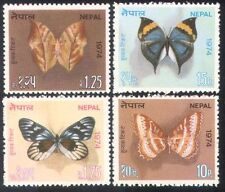 Nepal 1974 Butterflies/Insects/Nature/Butterfly/Conservation 4v set (n38797)