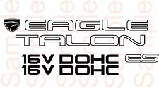 1G Eagle talon ES NON Turbo  Replacement stickers decals 92-94