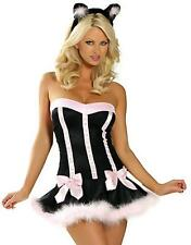 SEXY NAUGHTY Easter Bunny CAT COSTUME OUTFIT PARTY DRESS FANCY TUTU HEN NIGHT