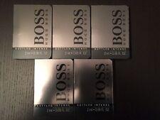 Lot de 5 échantillons eau de toilette Boss Hugo Bosse 10ml