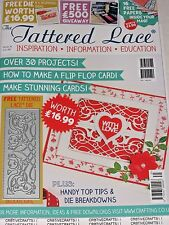 TATTERED LACE MAGAZINE #31 INCLUDES A FREE DIE) BOOK FOR CARDS & SCRAPBOOK IDEAS