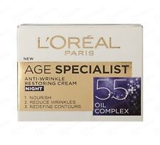 L'Oreal Age Specialist 55+ Night Face Cream Anti-Wrinkle Lifting Effect 50ml