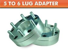 2 Wheel Adapters 5x5.5 to 6x135 ¦ Expedition Navigator 6 Lug Wheels On Ram 1500