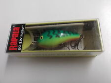 Hard to Find Rapala Rattlin Fat Rap,RFR-5,FT,Fire Tiger,Ireland Made