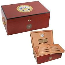 Cuban Crafters - American Emblems Army One Cigar Humidor - 100CT