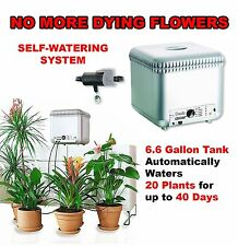 Self Watering Drip System Automatic Garden Flowers Plants Irrigation Kit Indoor