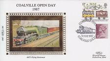 GB Benham COVER: 1987 R4 - Coalville Open Day + Coalville SHS