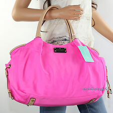 NWT Kate Spade Stevie Sporty Nylon Diaper Baby Girl Tote Bag WKRU2087 Pink NEW