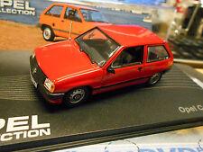 OPEL Corsa A MKI Kleinwagen 1982 - 1993 red rot IXO Altaya S-Preis 1:43