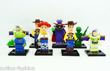 Set New 8 pcs Toy Story  Minifigs Building Blocks Toys Mini figures Woody Jessie