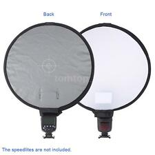 "16"" Universal Portable Softbox Diffuser Disc for Flash/Speedlite/Speedlight X8O1"