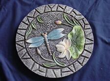 Round Dragonfly  Concrete or Plaster Garden Stepping Stone Mold 1106