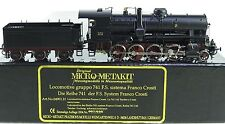 GL87 - BRASS MODEL - MICRO-METAKIT 04901.H LOCOMOTIVE gruppo 741.142 F.S.
