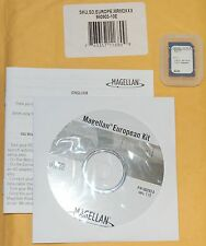 Magellan RoadMate GPS 2200T Crossover Map Software Update CD SD Card Set EUROPE