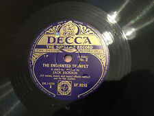 "A Story For Children By JACK JACKSON ""The Enchanted Trumpet"" 78rpm 10"" EXC"