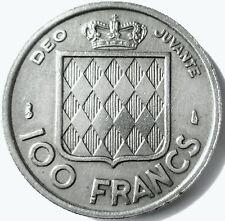 MONACO.100 FRANCS.1956  .CUPRO NICKEL .24 MM.6 GRAMMES GRAVEUR .LAGRIFFOUL