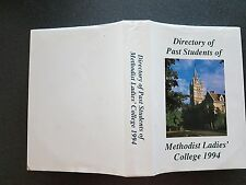 DIRECTORY STUDENTS METHODIST LADIES COLLEGE BOOK HB DW 1ST ED 1994 KEW MELBOURNE