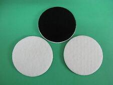 """75mm polissage pad, feutre polissage pad, verre polissage ~ 3 """"pad ~ 3 coussinets feutre"""