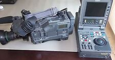 SONY DNW-A25P PORTABLE PLAYER AND RECORDER BETACAM SX  + CAMESCOPE SONY DNW90P