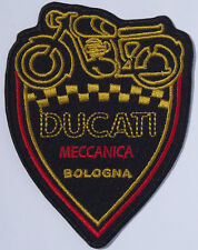Ducati Mechanica Bologna embroidered patch.  B030303