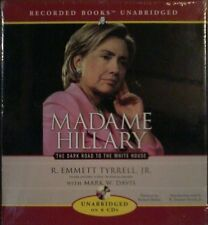 BOOK ON CD : Madame Hillary Clinton The Dark Road to the White House NEW Trump