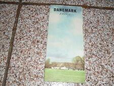 DANEMARK FIONE ANNI 60, PIANTINA E IMMAGINI DEL POSTO – PUBBLICITA' TURISTICA.