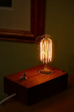 Vintage Retro Edison Bulb Table Lamp