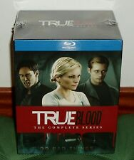 TRUE BLOOD-1-7 SERIE COMPLETA-PRECINTADO-NUEVO-NEW-SEALED-33 BLU-RAY-SERIES