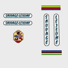Sauvage-Lejeune Bicycle Decals, Transfers, Stickers n.5