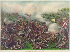 Civil War Prints and Drawings: Battle of Five Forks, Va, 1865: Fine Art Print