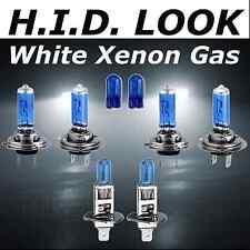 H7 H7 H1 100w White Xenon HID Look High Low Fog Beam Headlight Bulb Pack