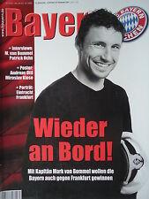 Programm 2009/10 FC Bayern München - Eintracht Frankfurt