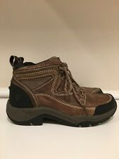 Ariat Terrain Brown Leather Lace Up Hiking Trail Boots Womens 6 B