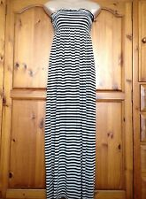 ❤️ Womens Miso @ Republic Black & White Stripe Maxi Dress Size Small 8-10 ❤️