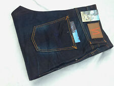 ALL SIZE w29 30 32 33 34 36 NUDIE jeans BIG BENGT NIGHT THUNDER LOOSE TAPERED