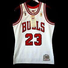 100% Authentic Michael Jordan Mitchell Ness 96 97 Finals Bulls Home Jersey 40 M