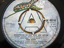 "TOM RUSH - SOMETHING IN THE WAY SHE MOVES  7"" VINYL"