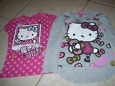 Two girls Hello kitty Tee shirts size medium, really cute, great shape.