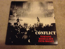 CONFLICT Turning Rebellion Into Money CRASS double record 1987