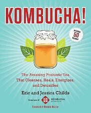 Kombucha! Amazing Probiotic Tea Cleanses Heals Eric and Jessica Childs WT70289