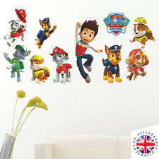 PAW PATROL Wall Stickers Vinyl Art Home Bedroom Poster KIDS BOYS GIRLS
