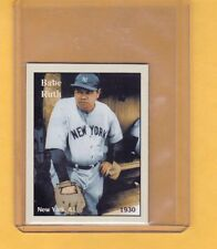 1930 Babe Ruth, New York Yankees, rare NYC cab card