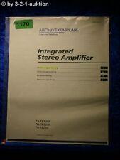 Sony Bedienungsanleitung TA FE530R / FE330R / FE230 Amplifier (#1170)