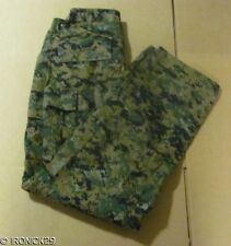 New USMC FROG Woodland Digital Camo Pants BDU Authentic SALE MED/LONG